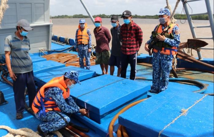 Cảnh sát biển: Bắt giữ, xử lý 253 vụ trong đợt cao điểm