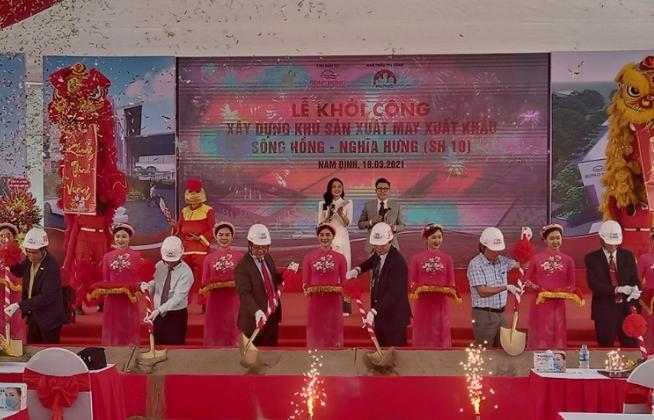 May Sông Hồng khởi công Dự án may xuất khẩu hơn 600 tỷ đồng