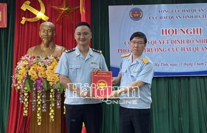 Cục Hải quan Hà Tĩnh có tân Phó Cục trưởng