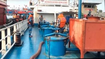 Bắt giữ tàu chở200.000 lítdầu DO bất hợp pháp