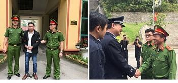 Trao trả đối tượng truy nã cho Công an Quảng Tây (Trung Quốc)