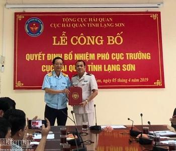 Hải quan Lạng Sơn có thêm Phó Cục trưởng