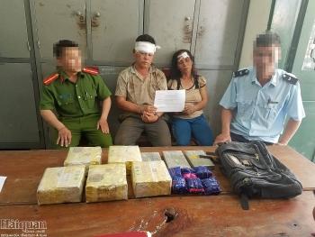 Hải quan Nghệ An phối hợp bắt số lượng lớn ma túy