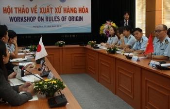 Nâng cao năng lực về xuất xứ hàng hoá cho công chức Hải quan Việt Nam