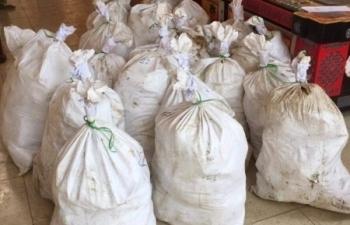 Vụ bắt gần 1 tấn ma túy ở Nghệ An: Khám nhà 1 nghi phạm điều hành đường dây