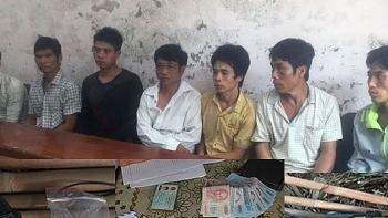 Nghệ An: Triệt xoá lán trại của băng nhóm mua bán ma tuý