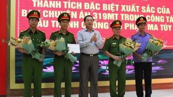 Nghệ An: Khen thưởng Ban chuyên án thu giữ 700 kg ma túy đá