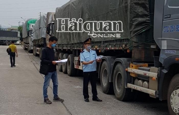 Hoạt động thông quan hàng hóa tại cửa khẩu Chi Ma đã trở lại bình thường