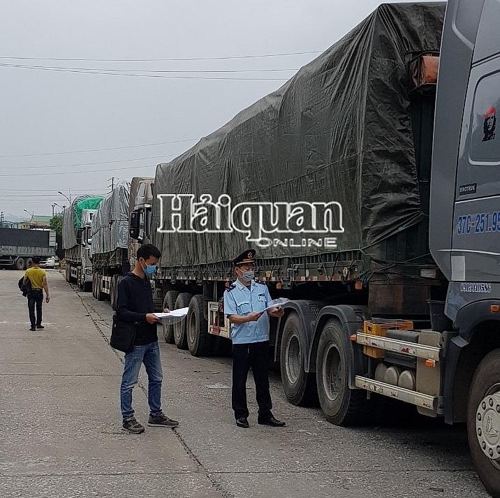 Cửa khẩu Chi Ma: Hàng xuất khẩu tồn lên đến 510 xe