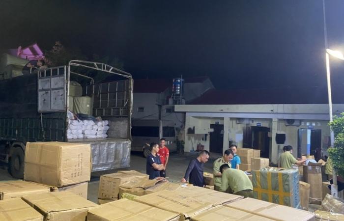 Lạng Sơn: Phát hiện 4.500 sản phẩm không có hóa đơn chứng từ