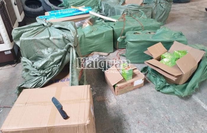 Hải quan Tân Thanh bắt vụ vận chuyển số lượng lớn gỗ tự nhiên và sản phẩm gỗ