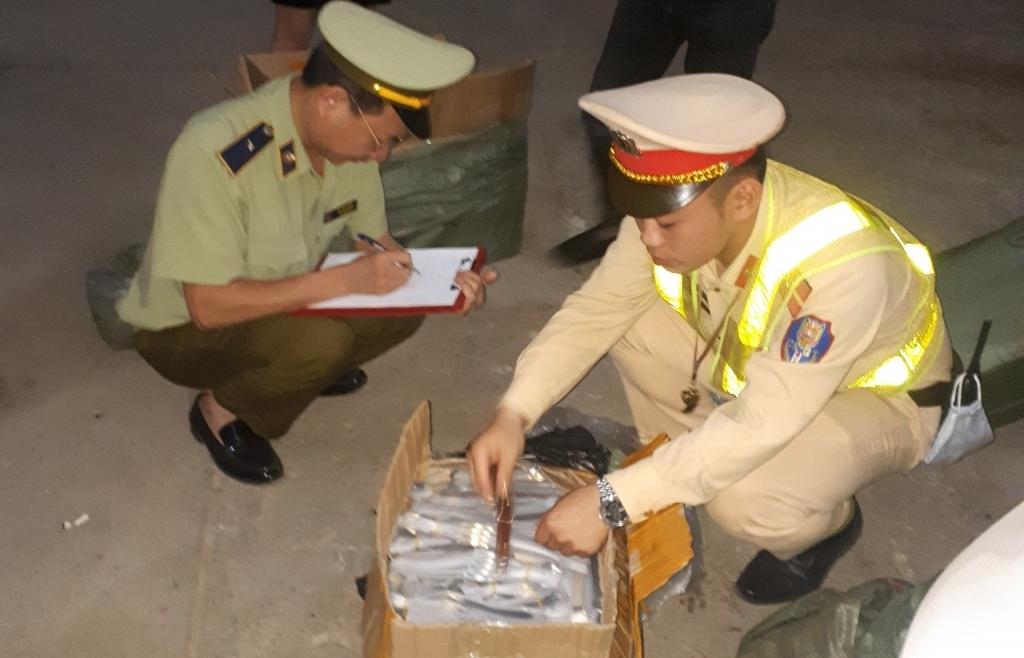 Lạng Sơn tạm giữ 1.600 chiếc đồng hồ đeo tay nhãn hiệu CASIO giả