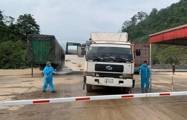 Hà Tĩnh: Siết chặt kiểm soát dịch Covid-19 tại cửa khẩu quốc tế Cầu Treo
