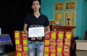 Hải quan Hữu Nghị bắt giữ 156 kg pháo nổ nhập lậu