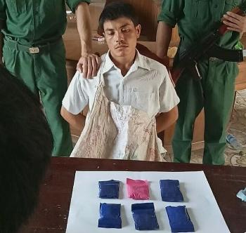Bắt đối tượng vượt biên mang 1.200 viênma túy vào Việt Nam tiêu thụ