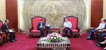 Phó Tổng cục trưởng Mai Xuân Thành tiếp Đại sứ đặc mệnh toàn quyền Ấn Độ tại Việt Nam