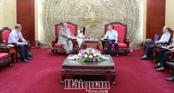 Phó Tổng cục trưởng Mai Xuân Thành tiếp Đại sứ Phần Lan tại Việt Nam