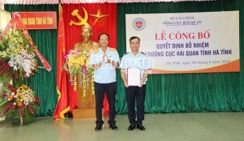 Ông Nguyễn Hồng Linh giữ chức vụ Cục trưởng Cục Hải quan Hà Tĩnh