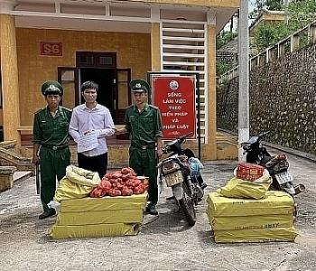 Biên phòng Lạng Sơn: Bắt giữ đối tượng vận chuyển 250 kg pháo nổ