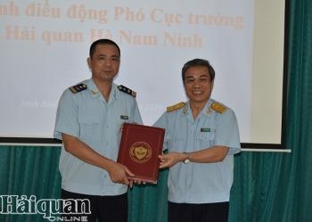 Điều động ông Trịnh Mạc Linh về làm Phó Cục trưởng Cục Hải quan Hà Nam Ninh