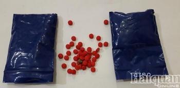 Hải quan Nghệ An bắt đối tượng tàng trữ gần 400 viên ma túy tổng hợp
