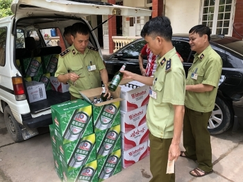Bắt giữ 1.344 sản phẩm thực phẩm nhập lậu từ Trung Quốc