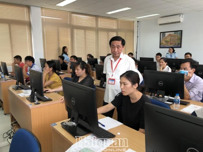 543 thí sinh tham gia kỳ thi cấp chứng chỉ nghiệp vụ khai hải quan