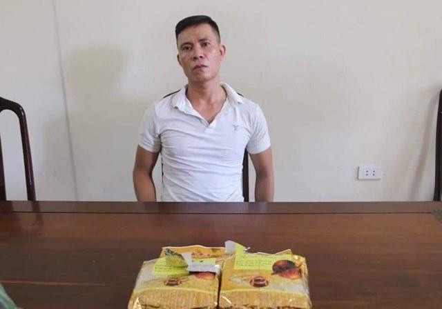 Hải quan Hà Tĩnh phối hợp bắt đối tượng vận chuyển 2 kg ma túy