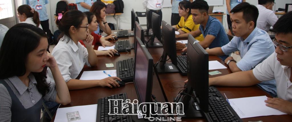 477 thi sinh tham gia thi chung chi nghiep vu khai hai quan khu vuc phia nam