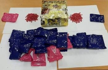 Nghệ An: Bắt đối tượng vận chuyển 1 kg ma túy đá, 6.000 viên ma túy tổng hợp