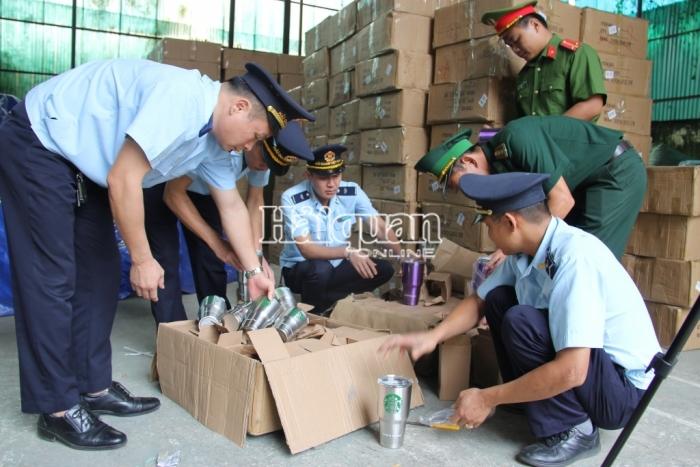 Hải quan Tân Thanh liên tiếp thu giữ hàng không chủ