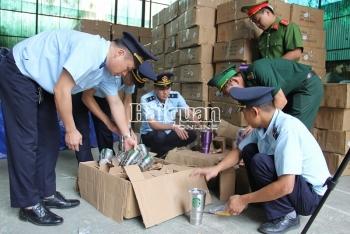 Hải quan Lạng Sơn: Đột kích kho chứa 280 kiện hàng nghi giả mạo xuất xứ Thái Lan