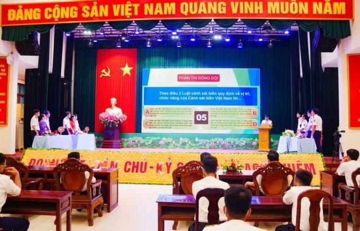 Triển khai thi trực tuyến toàn quốc tìm hiểu Luật Cảnh sát biển Việt Nam