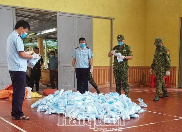 Hải quan Tân Thanh bắt giữ 22.000 khẩu trang xuất xứ Trung Quốc