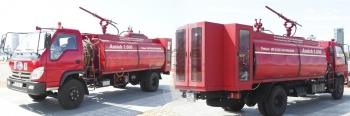Xe chữa cháy hàng không phù hợp phân loại vào nhóm 87.05
