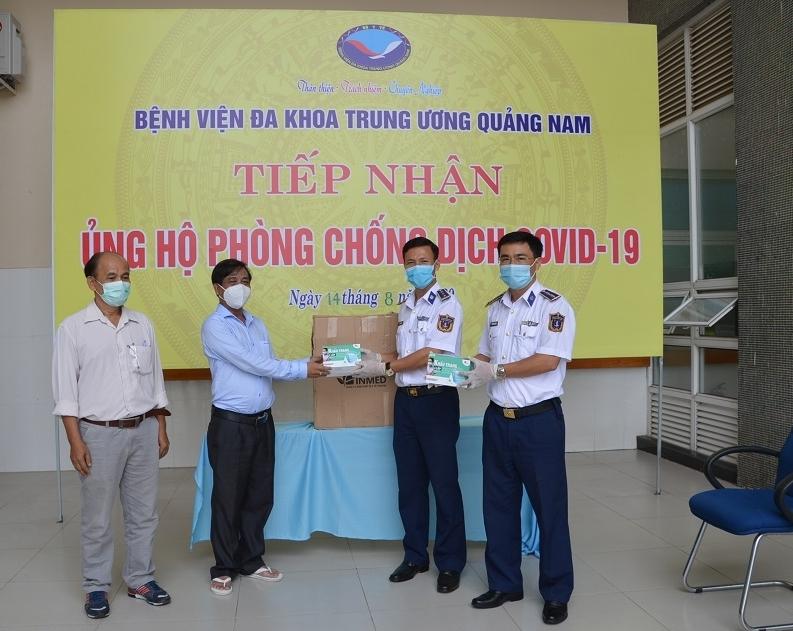 Bộ Tư lệnh Vùng Cảnh sát biển 2 chung tay chống dịch Covid-19