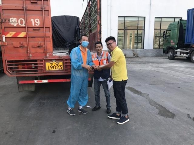 Giải quyết 6 vụ tổn thất phương tiện vận tải Trung Quốc nhập cảnh qua cửa khẩu Hữu Nghị