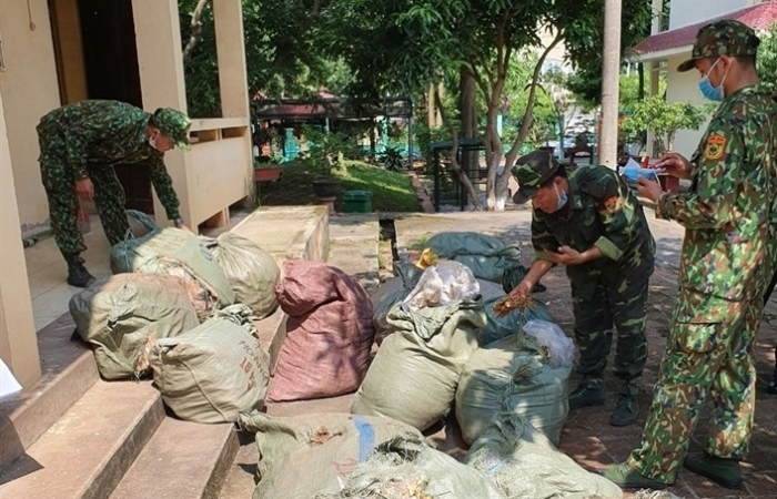 Lạng Sơn: Liên tiếp thu giữ nguyên liệu thuốc bắc nhập lậu