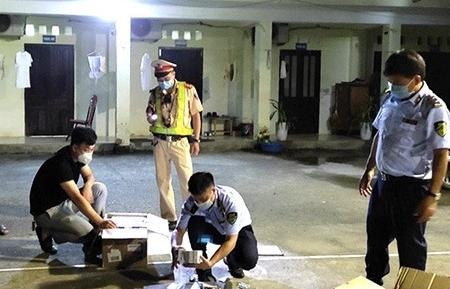 Lạng Sơn: Thu giữ 21.000 viên thuốc không rõ nguồn gốc