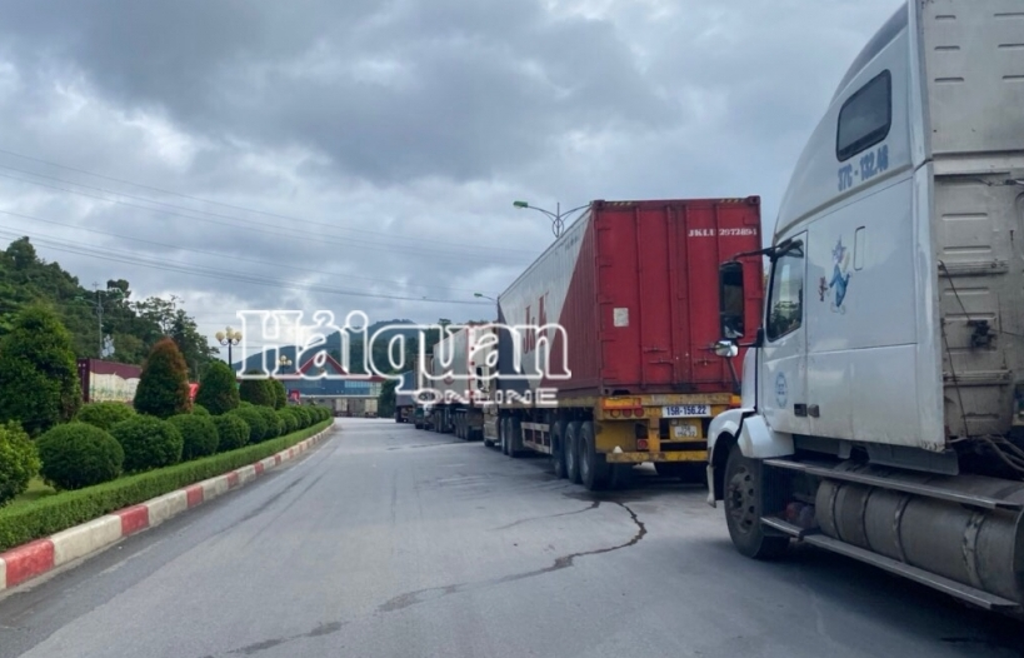 Trung Quốc tạm dừng thông quan hàng tại cửa khẩu Tân Thanh (Lạng Sơn) để kiểm tra công tác phòng chống dịch