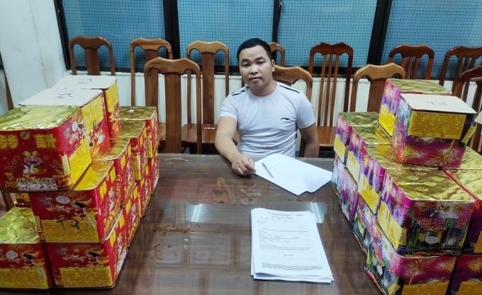 Lạng Sơn: Bắt quả tang đối tượng vận chuyển 50 kg pháo nổ
