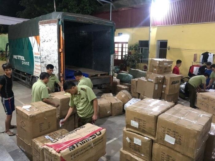 Lợi dụng dịch vụ Viettel Post chuyển phát nhanh số lượng lớn hàng lậu