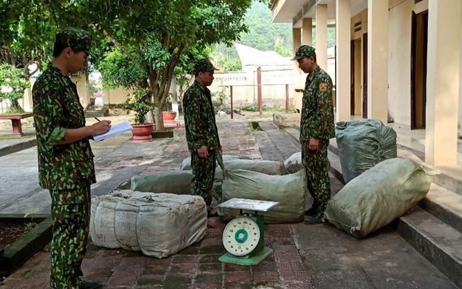Lạng Sơn lại thu giữ 423 kg nguyên liệu thuốc bắc nhập lậu