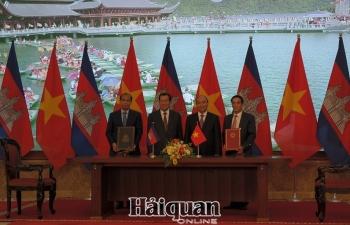 Ký kết bản ghi nhớ hợp tác Hải quan Việt Nam-Campuchia