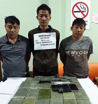 Bộ đội Biên phòng phá Chuyên án 032Av, thu giữ 60 bánh heroin