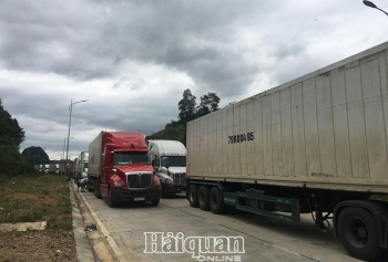 Hải quan Lạng Sơn:Nỗ lực thông quan hàng hoá tại cửa khẩu Tân Thanh