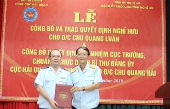 Ông Chu Quang Hải làm Cục trưởng Cục Hải quan Nghệ An