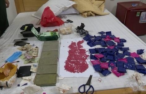 Hà Tĩnh thu giữ 6 bánh heroin, 1 kg ketamin và 12.000 viên ma túy tổng hợp