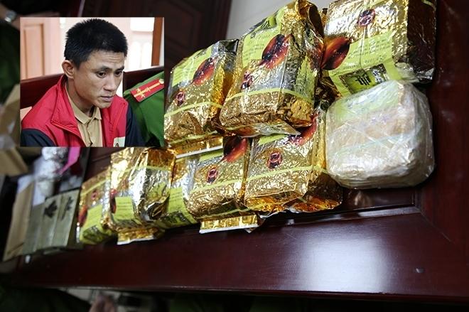 Tàng trữ 6 bánh heroin, 13 kg ma túy đá dưới vỏ bọc thợ cơ khí