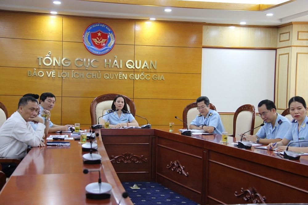Quang cảnh đoàn Hải quan Việt Nam tham gia hội thảo. Ảnh: H.Nụ
